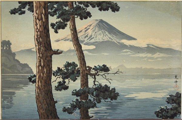 2376: Japanese Prints, Koitsu, Tanaka Ryohei