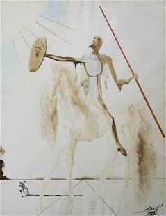 Watercolor, Salvador Dali