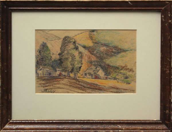 4004: Drawing, Galen Wolf, Californian