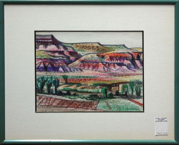 4005: Pastel Erle Loran California