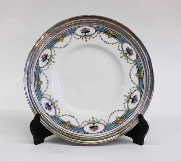 4012: Mintons sterling porcelain plate