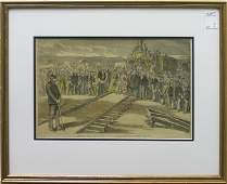 4313 Lithographs Railroad Currier and Ives