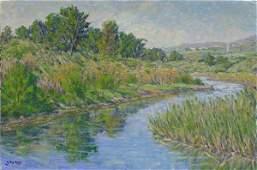 Painting, Gary Ray, Californian