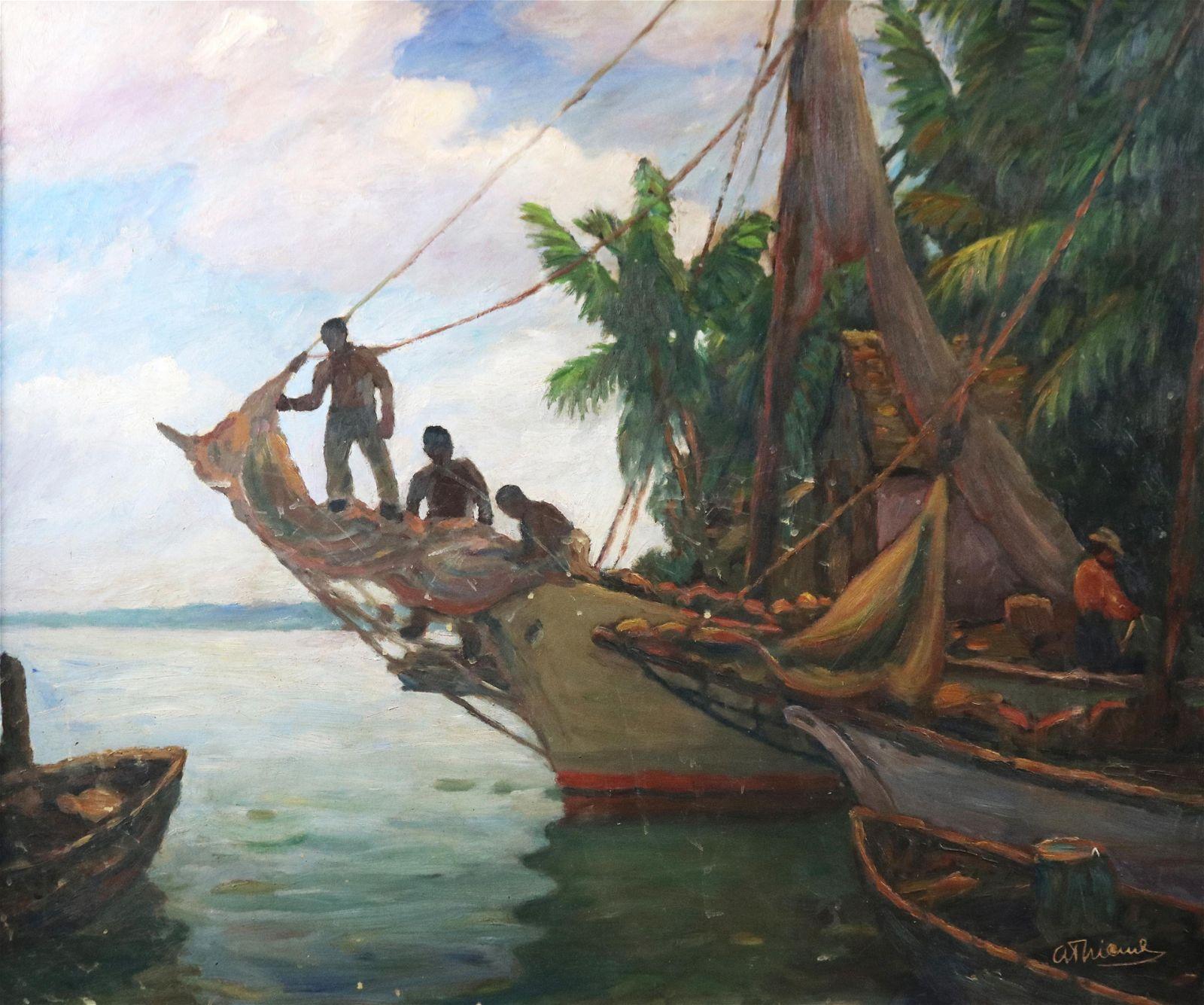 Painting, Anthony Thieme