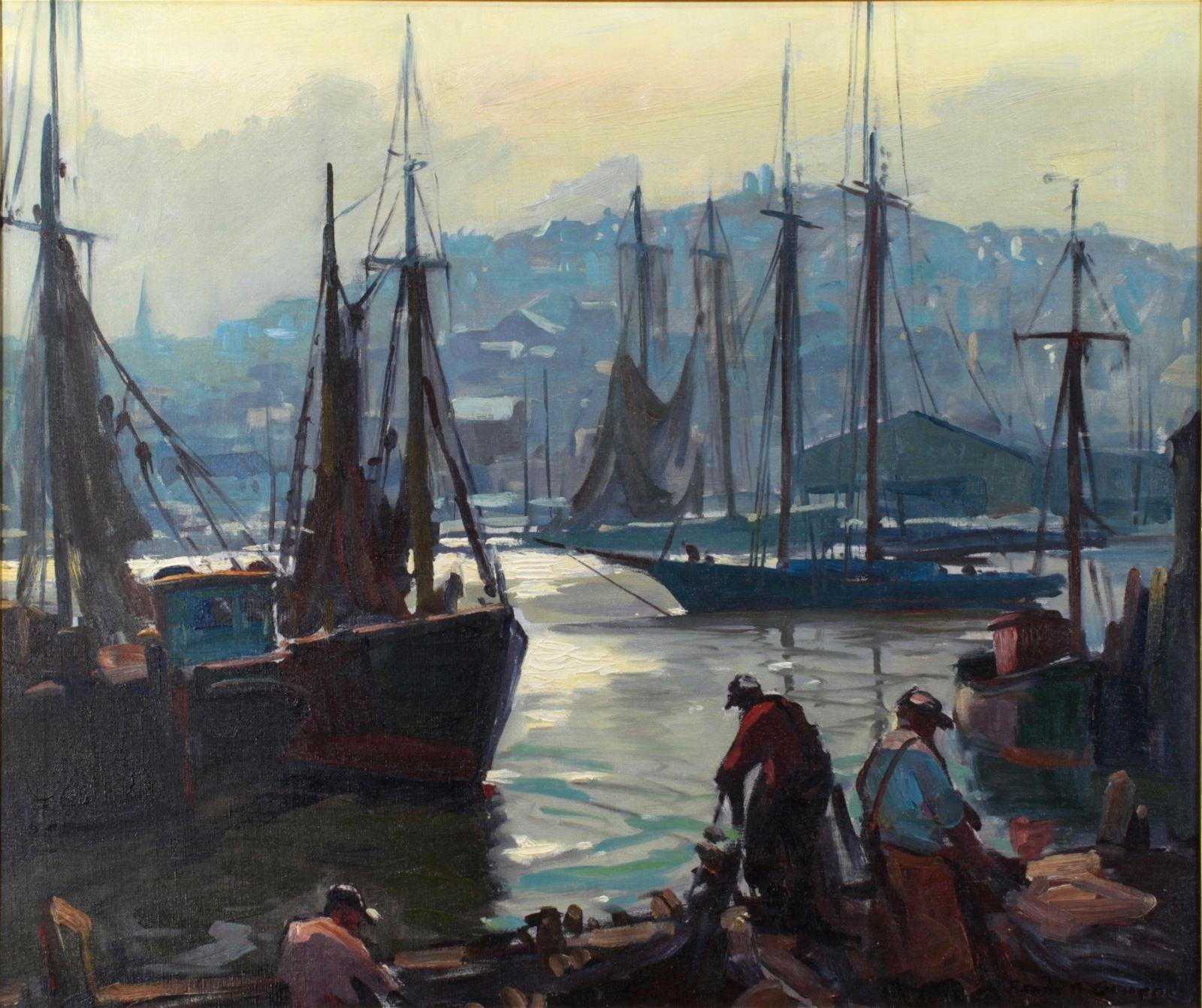 Painting, Emile Gruppe