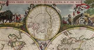 Map Frederick De Wit