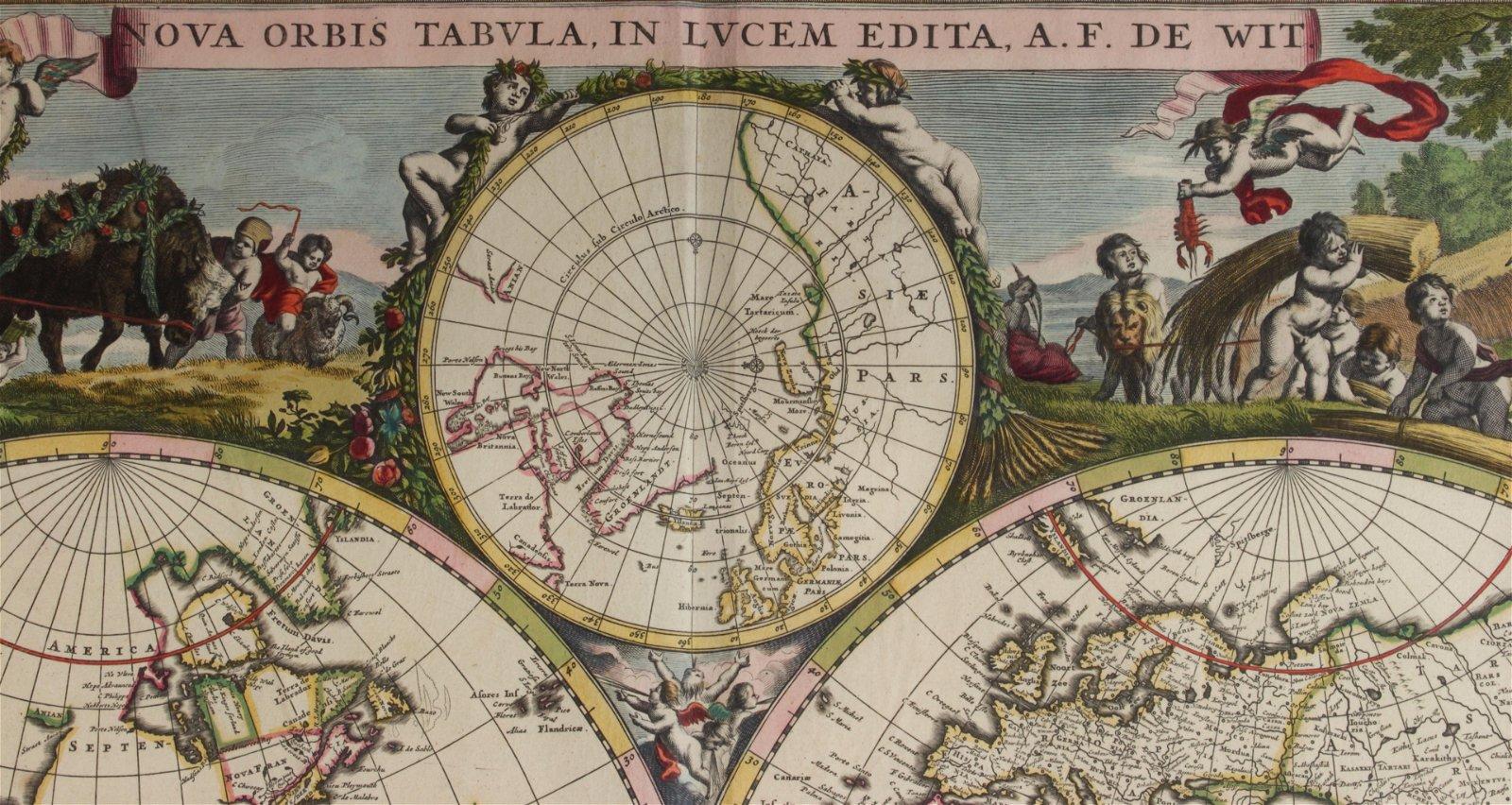 Map, Frederick De Wit