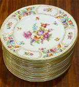 lot of 12 Schumann Bavaria dinner plates