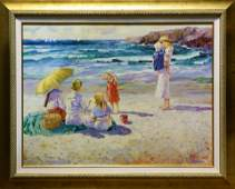 Giclee The Beach