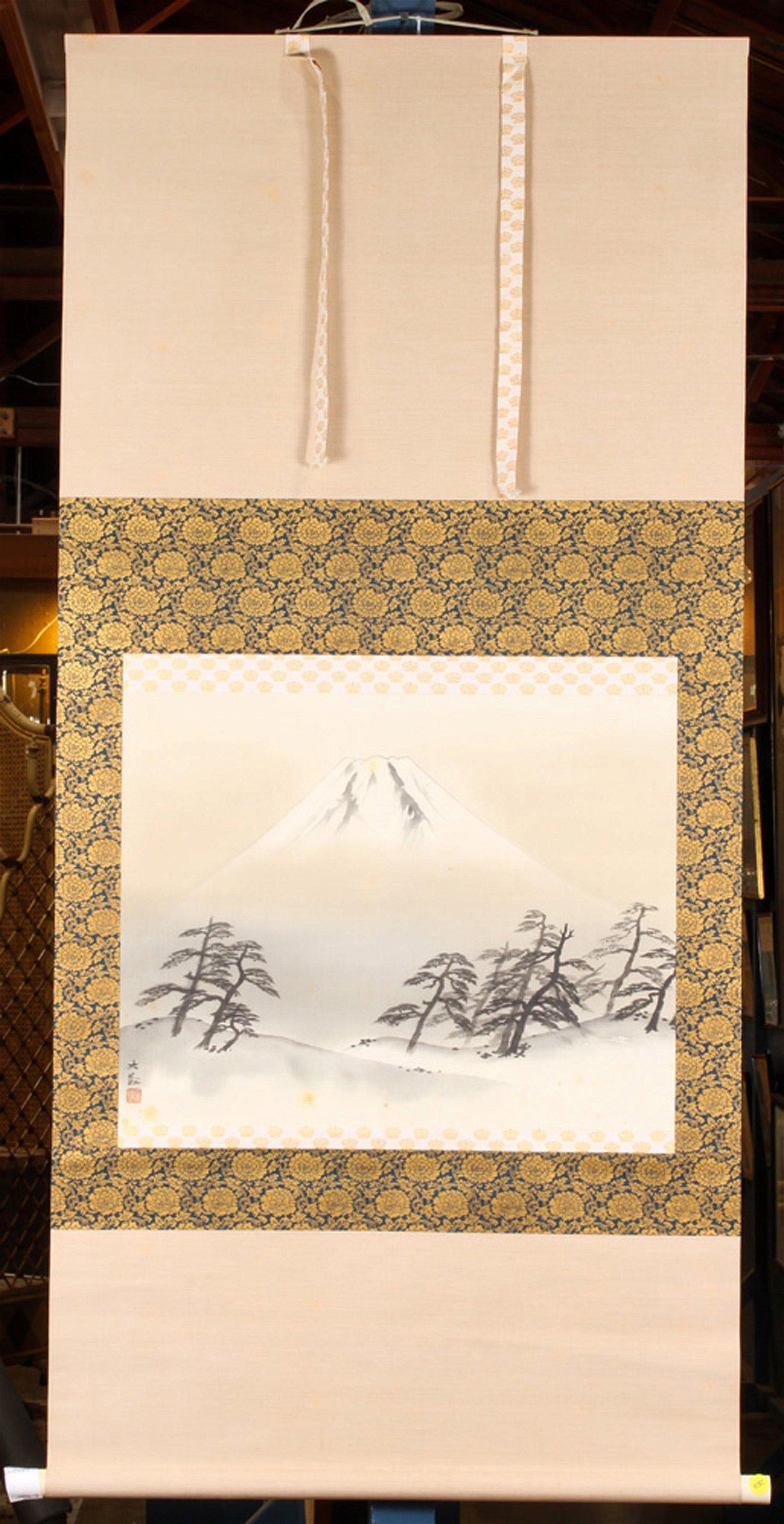 Japanese Scroll, Yokoyama Taikan