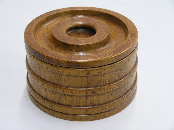 23: Dansk staved teak ice bucket
