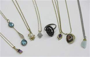 Group of fine necklaces