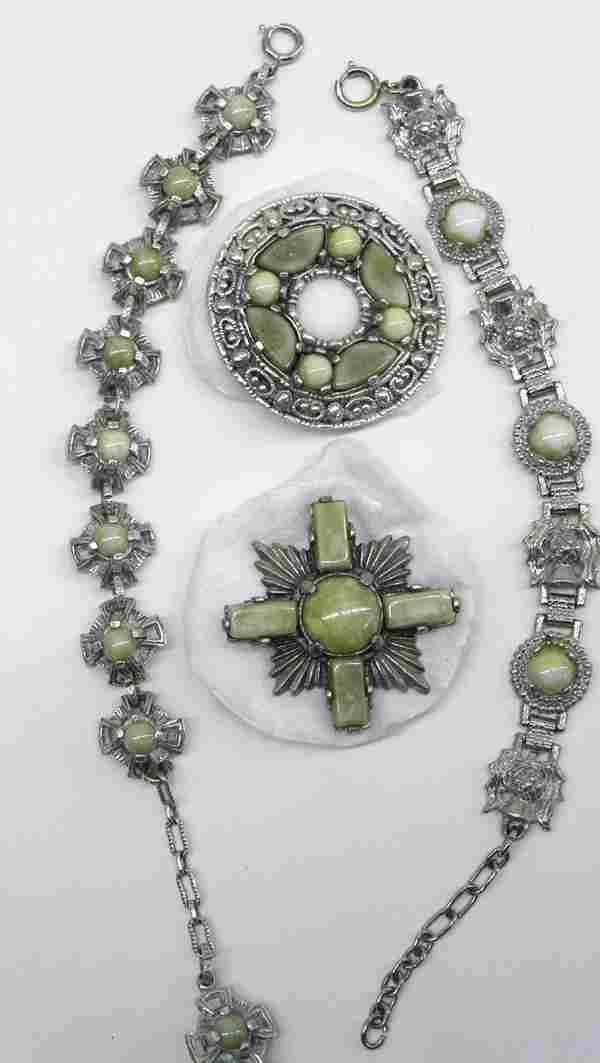 Group of Scottish jewelry