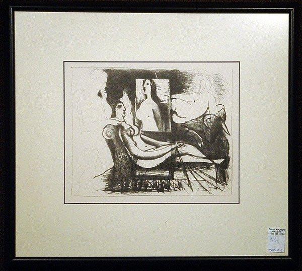 2167: Lithograph, Pablo Picasso