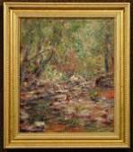 2196 Oil painting John A Dominique