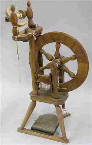 Treadle Flax wheel