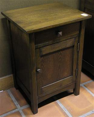 Arts & Crafts style nightstands