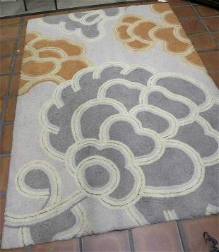 Mid century abstract carpet