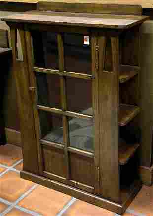 Arts & Crafts style bookcase
