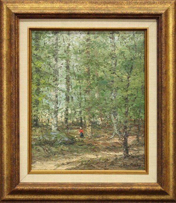 3: painting, Landscape, Joseph Koutachy
