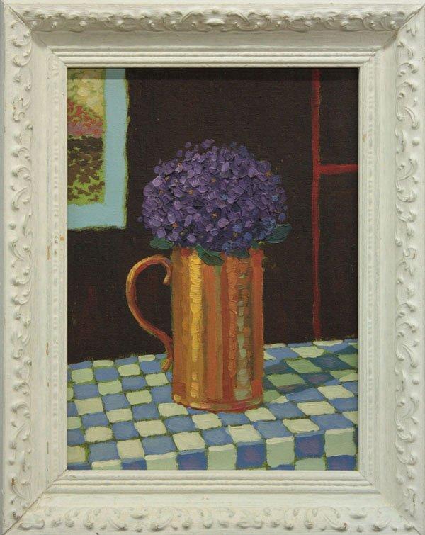 7: painting, Violets, John Payne