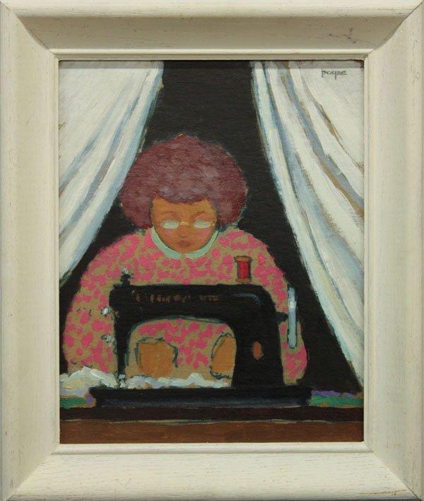 8: painting, Sewing, John Payne
