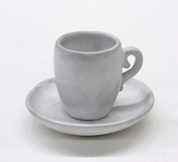 20: Van Briggle art pottery cup saucer
