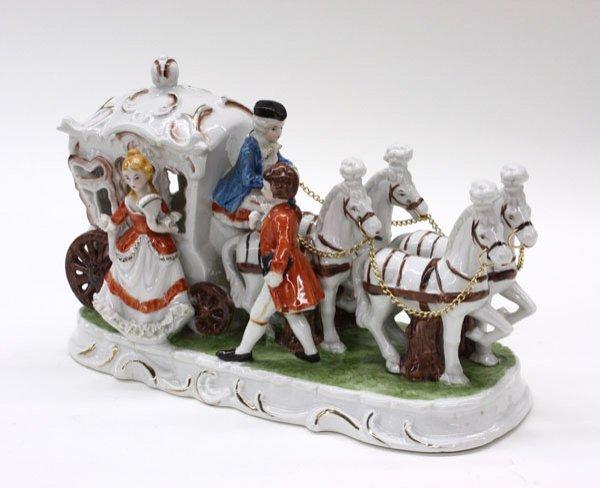 23: Continental porcelain figure