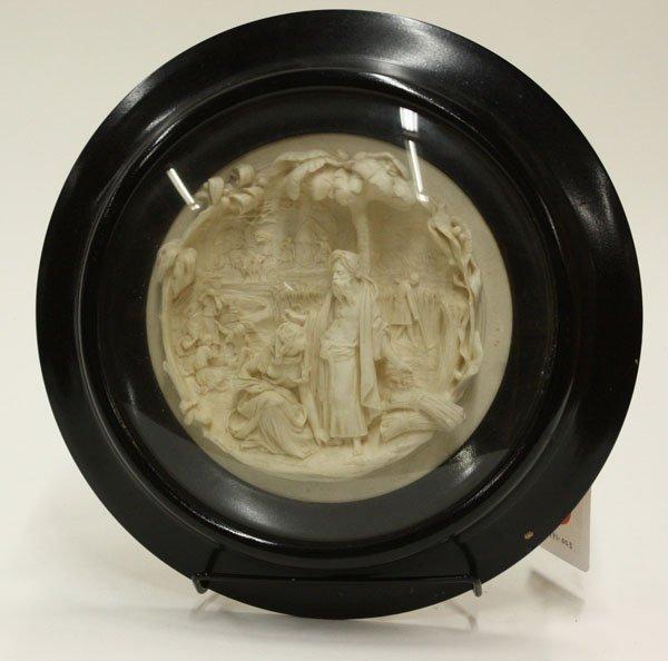 24: Carved Meershaum plaque