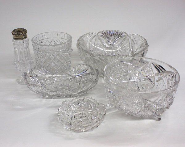 Cut crystal bowl Waterford ice bucket