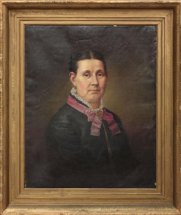 355: paintings, Portraits, 19th C