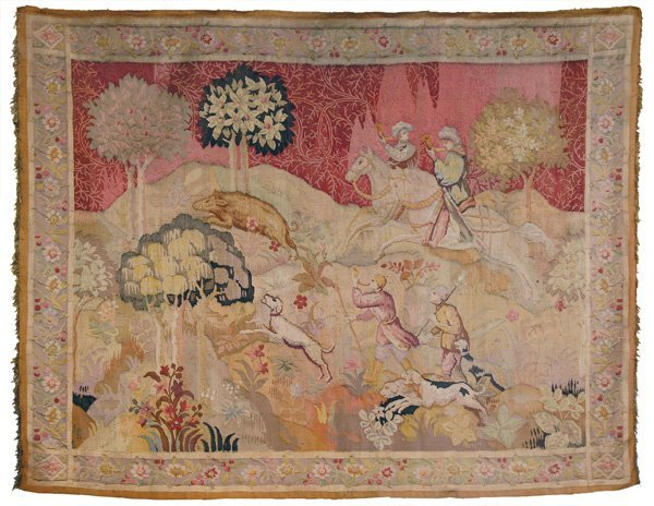 2011: Hand woven tapestry 19th century