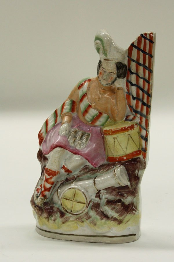 2012: Victorian Staffordshire figural group
