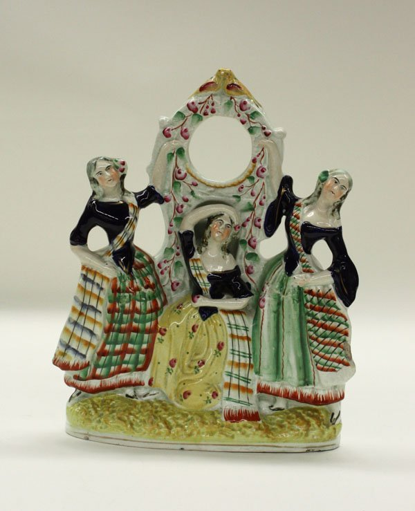 2013: Victorian Staffordshire figural group