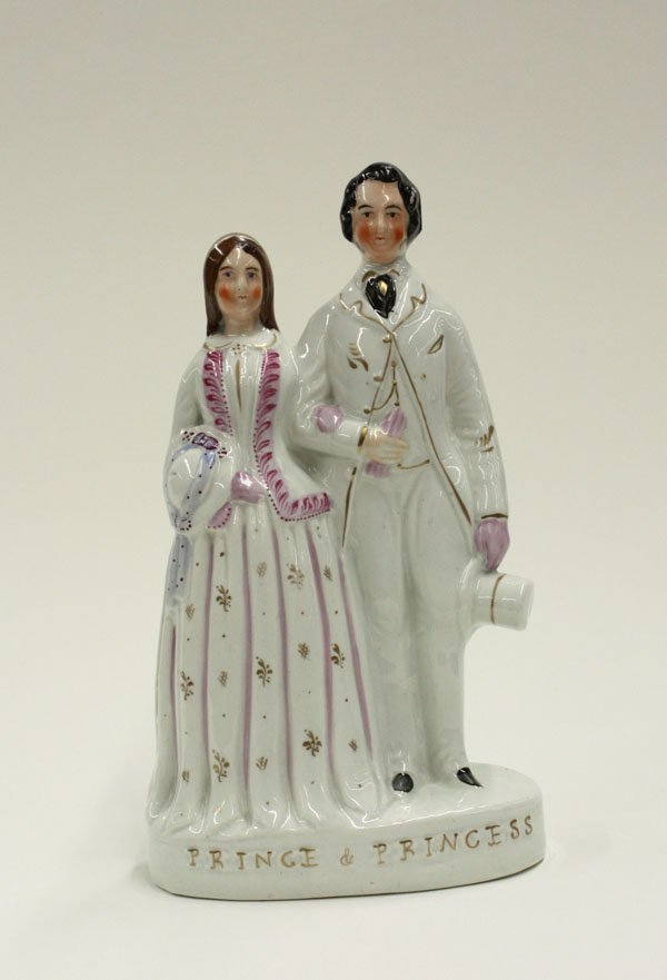 2014: Victorian Staffordshire figural group