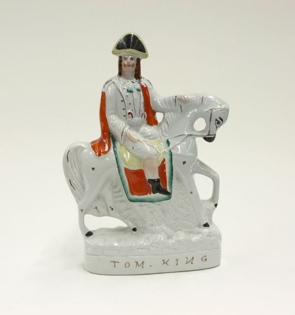 2018: Victorian Staffordshire figure Tom King