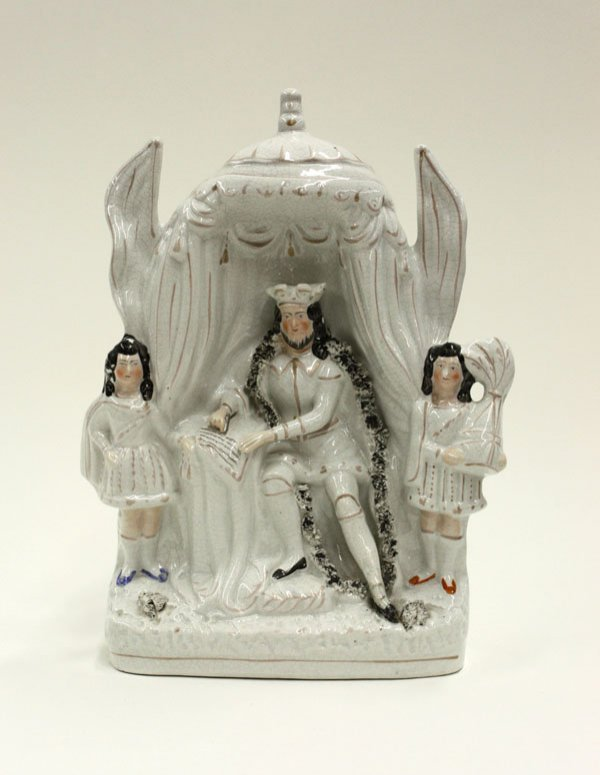 2019: Victorian Staffordshire figural group