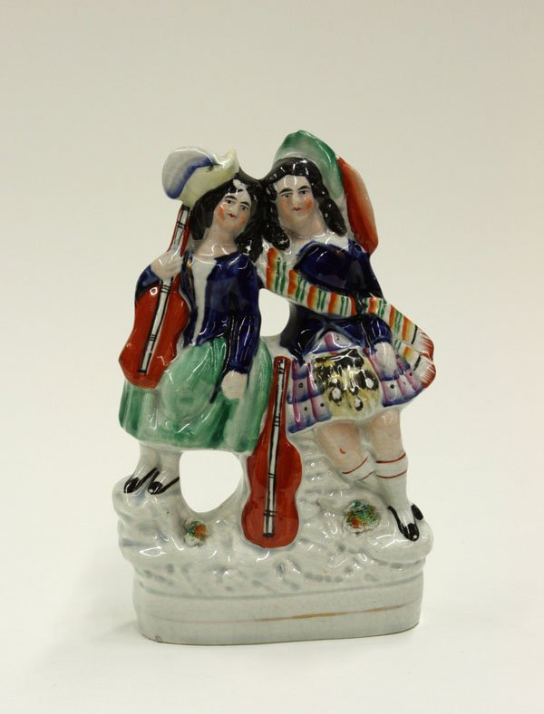 2023: Victorian Staffordshire figural group