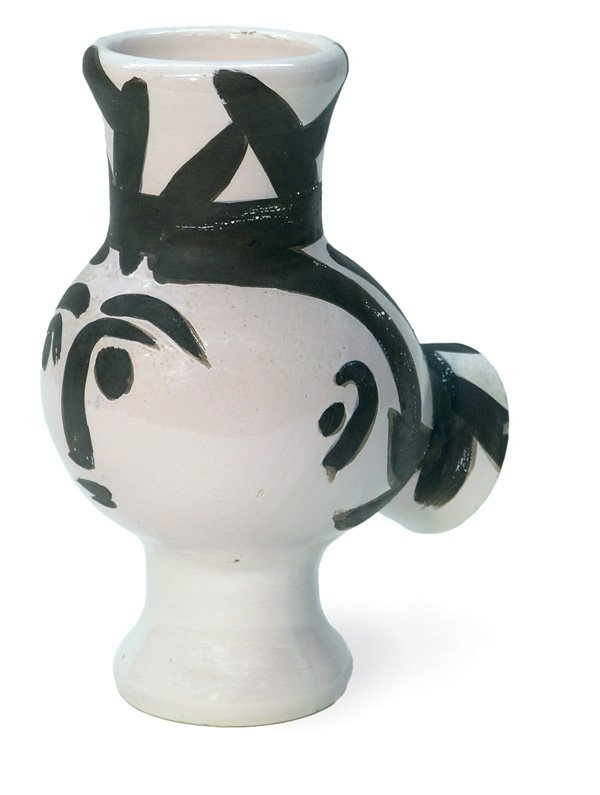 2298: Picasso vase Chouette Femme Madoura