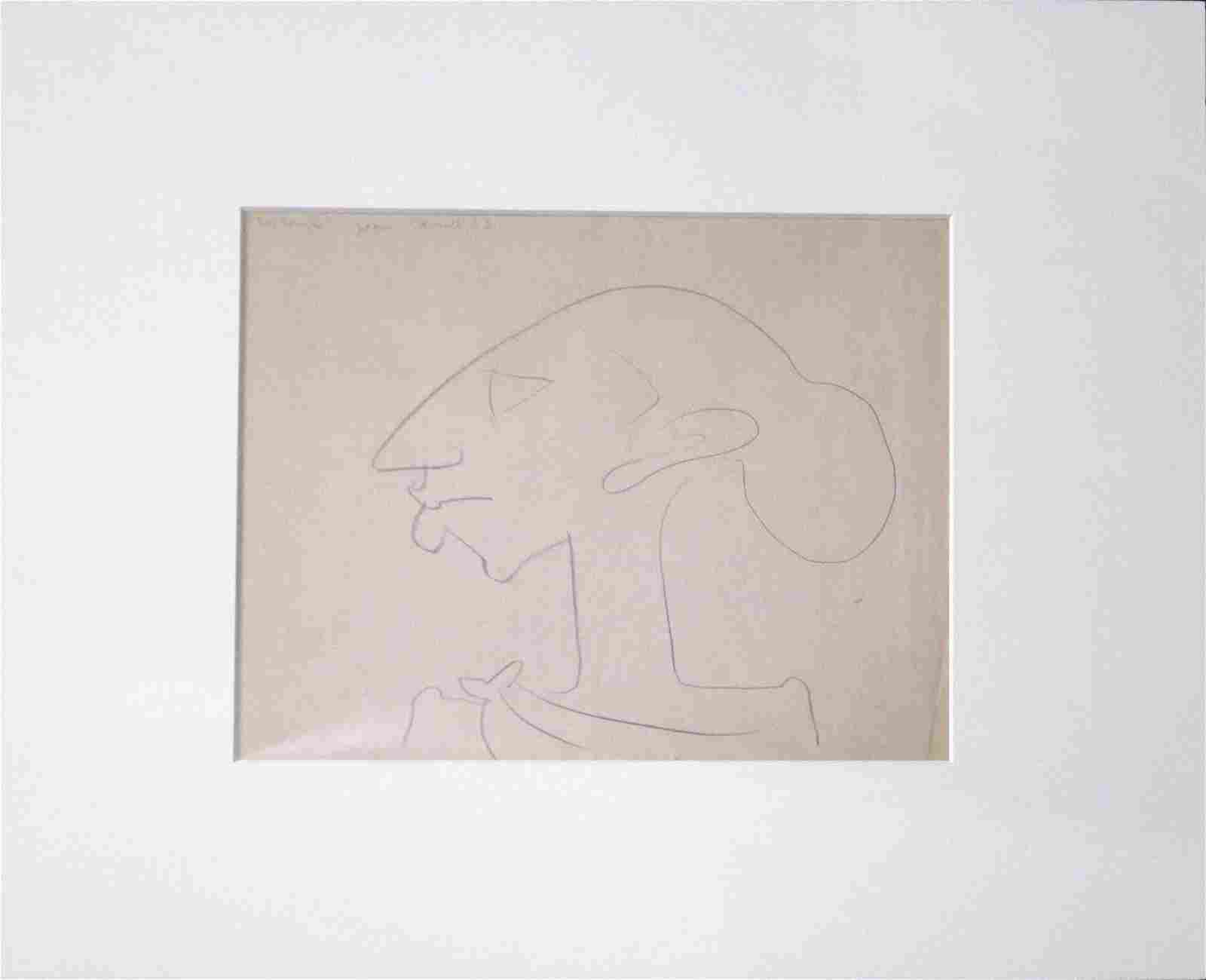 Work on paper, Jean Charlot