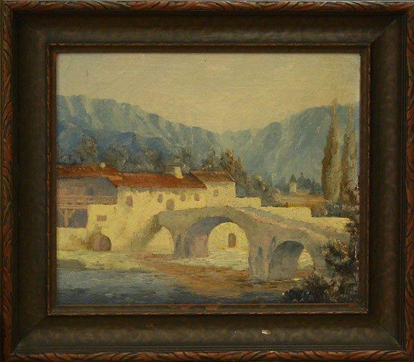 4004: Painting, Eaton, Italian Landscape