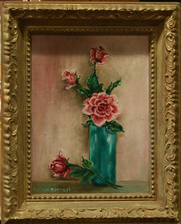 4008: Painting, Tyrrell, Still Life