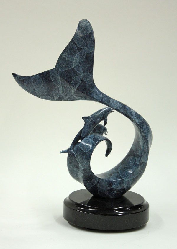 4038: Scott Hanson bronze sculpture - 2