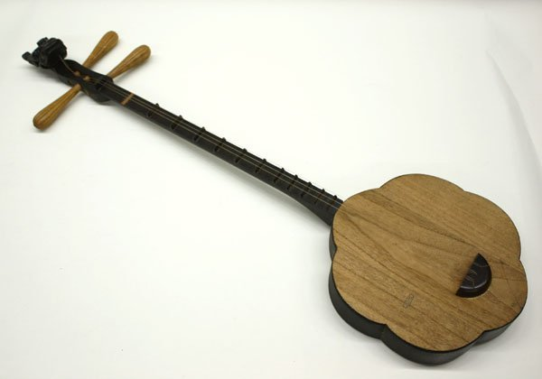 4159: Chinese qinqin stringed instrument - 2