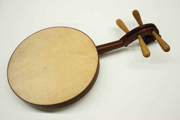 4159: Chinese qinqin stringed instrument - 6