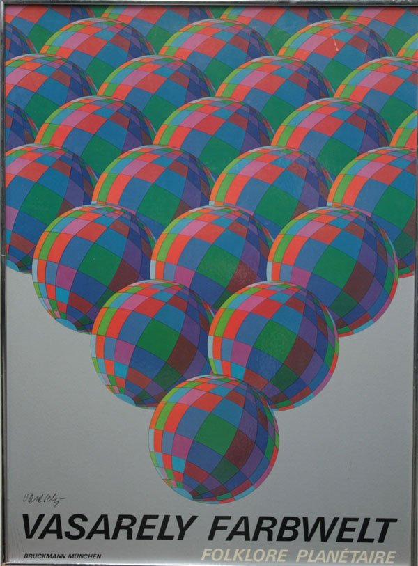4347: Poster after Victor Vasarely German