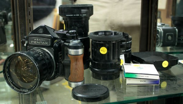4428: Asahi Pentax 6x7 camera lens