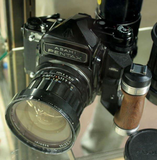 4428: Asahi Pentax 6x7 camera lens - 2