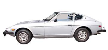 A 1978 Datsun 280Z with a rare five speed manual