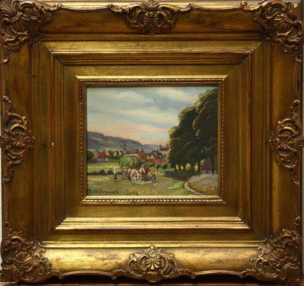2000: painting, Farming, Paul Goetz-Racknitz